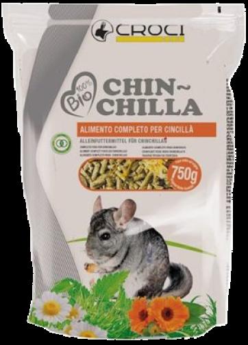 Comida para chinchilla